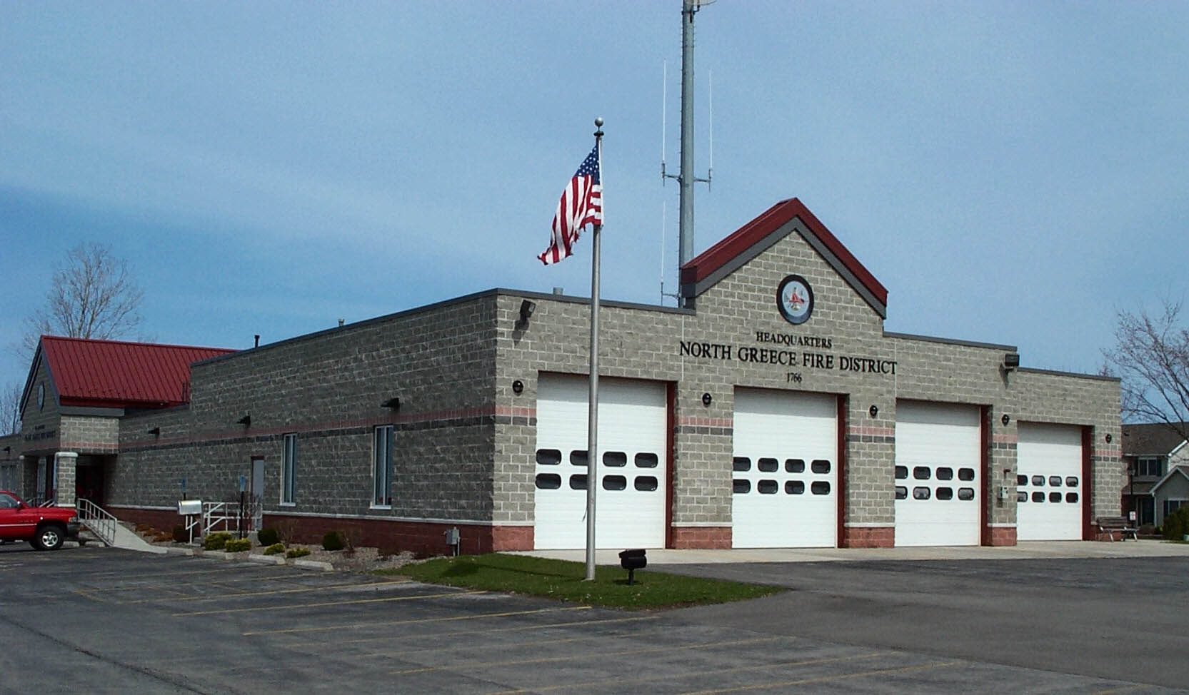North greece fire district stations apparatus