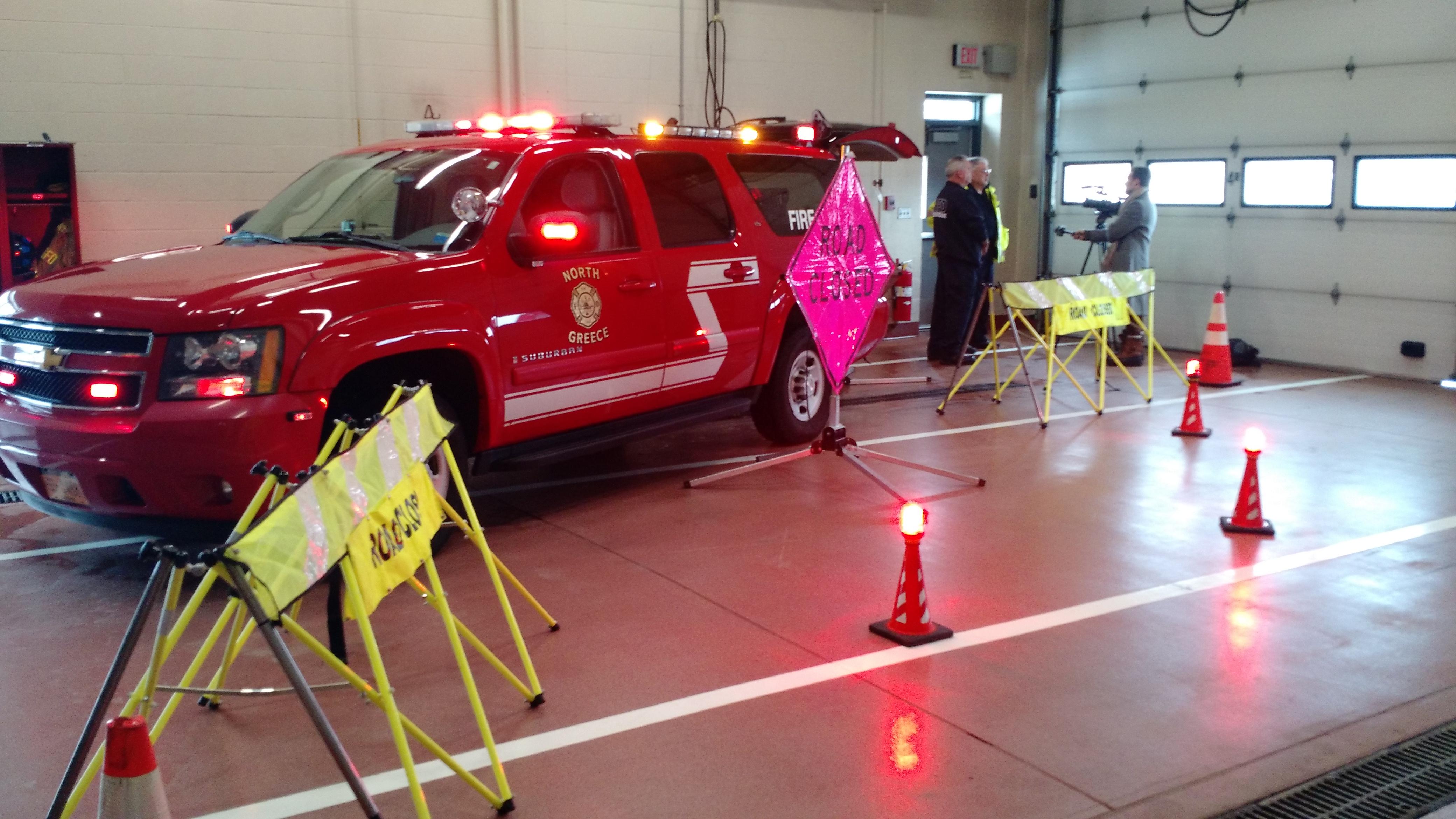 NGFD Fire Police on TWC News