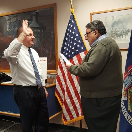 New Fire Commissioner Sworn In