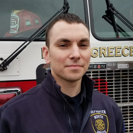 District Welcomes Firefighter Shane Bagley